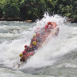 Getting some air on the rapid