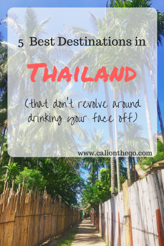 Sometimes vacation is better used for relaxing than partying. While Thailand can be a party hotspot, check out some of the best destinations to just kick it