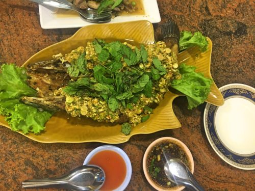 Fish with lemongrass