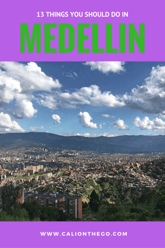 Medellin is an extremely modern city in Colombia with a lot to offer. It has come a long way and is definitely worth checking out while visiting Colombia