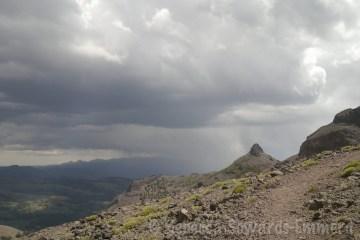 Storms near Leavitt Peak