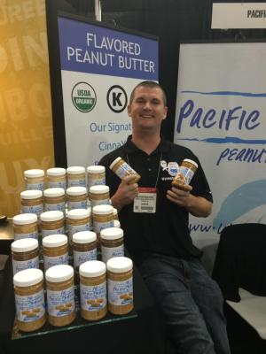 CEO Matther Mulivill of Pacific Beach Peanut butter (via Facebook)