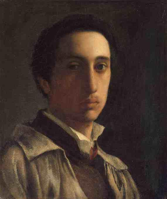 Edgar Degas, Self-Portrait
