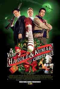 Movie Poster: A Very Harold & Kumar 3D Christmas