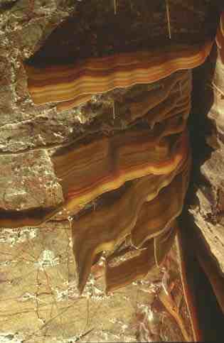 Kartchner Caverns: cave bacon