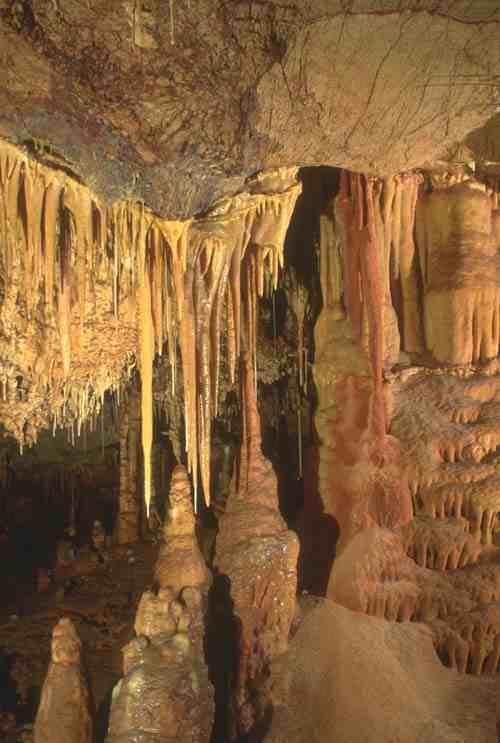 Kartchner Caverns: mud flats