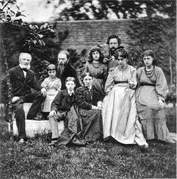 Edward Burne-Jones and William Morris families