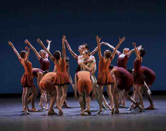 NYCB, Tyler Angle, Wendy Whelan in Concerto DSCH