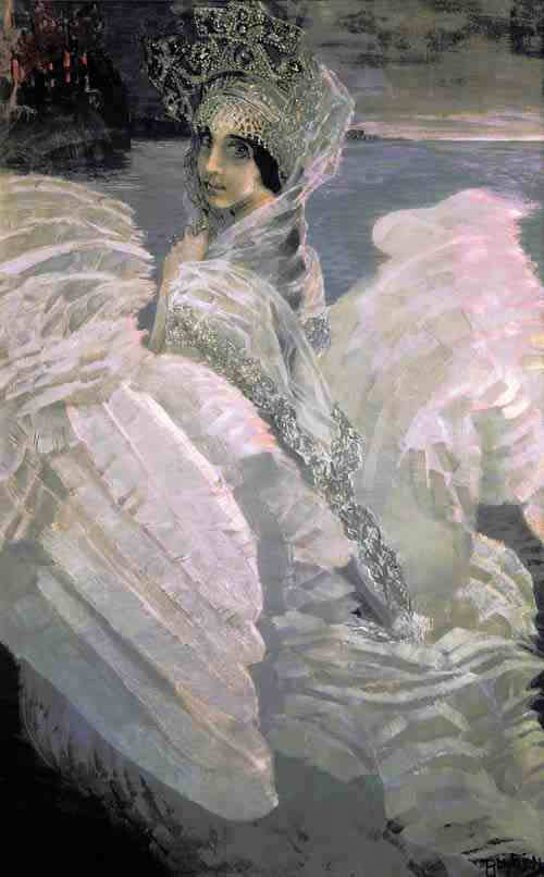 The Swan Princess Nanny by Mikhail Vrubel