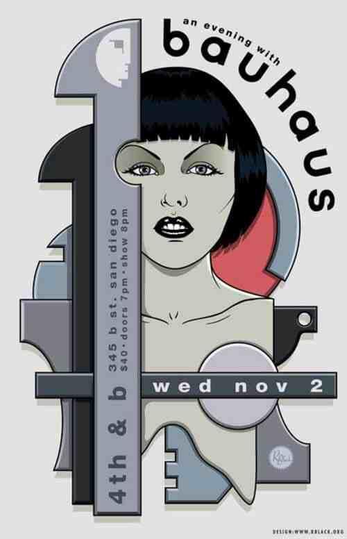 Rich Black: Bauhaus