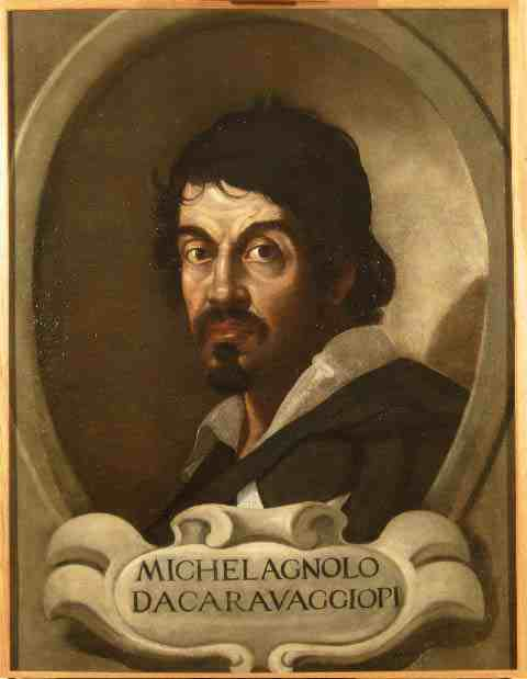 Anonymous portrait of Caravaggio