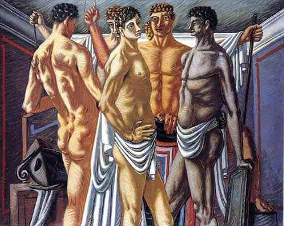 Giorgio de Chirico: Gladiators at Rest