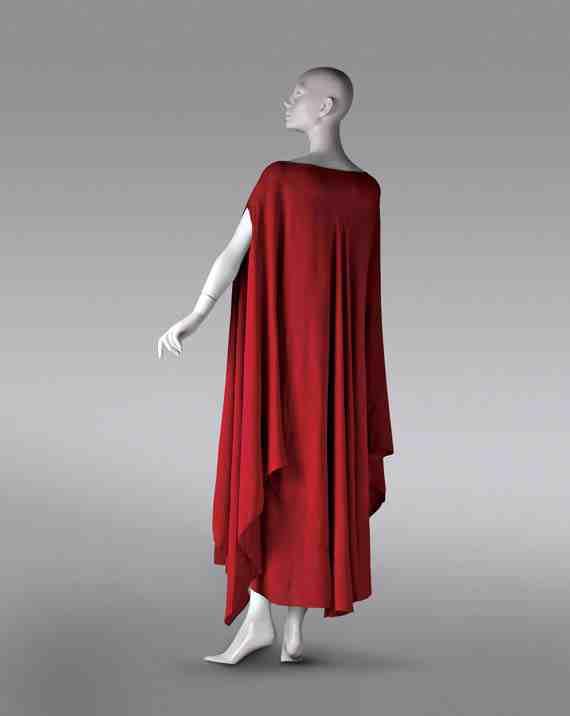 Madeleine Vionnet, Caftan dress