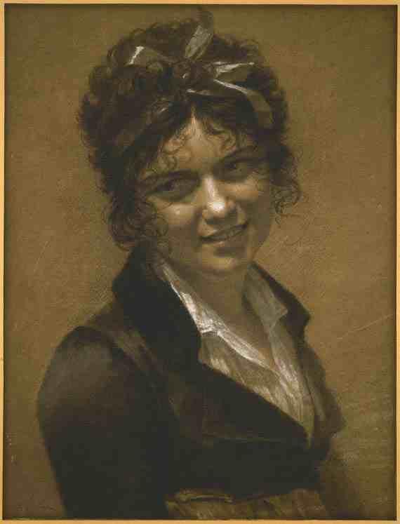 Pierre-Paul Prud'hon Portrait of Constance Mayer