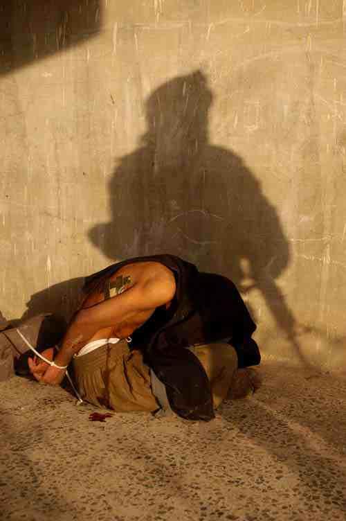 Falluja: Captured insurgent