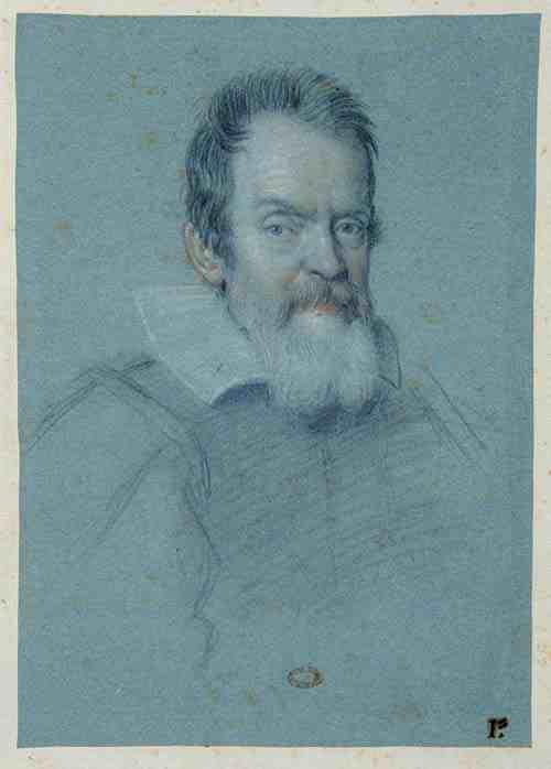 Ottavio Leoni: Portrait of Galileo Galilei