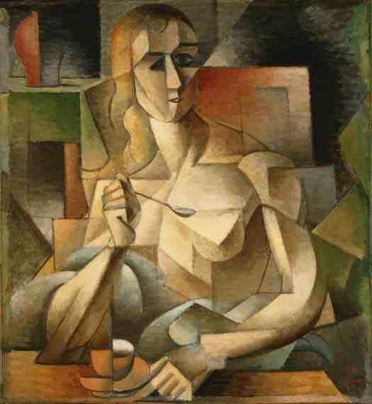 Jean Metzinger: Tea Time (Woman with a Teaspoon)