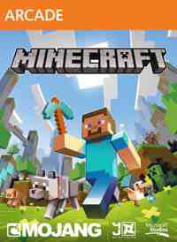 Minecraft XBLA Edition box art