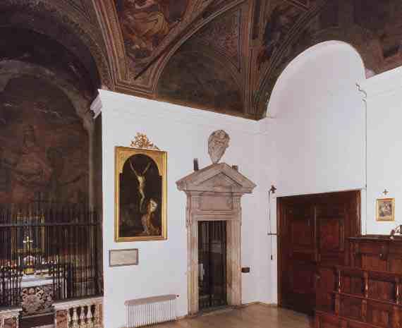 San Silvestro Chapel before restoration