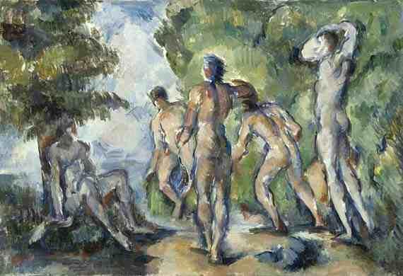 Paul Cézanne, Bathers