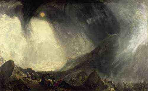 Snow Storm by J.M.W. Turner