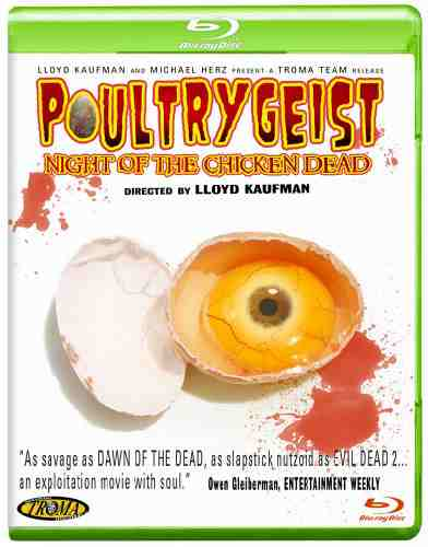 DVD Cover: Poultrygeist Night of the Chicken Dead