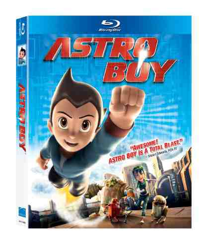 DVD Cover: Astro Boy