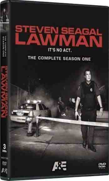 DVD Cover: Steven Seagal Lawman Season One