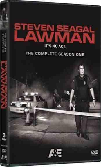 DVD Cover: Steven Seagal Lawman Season One
