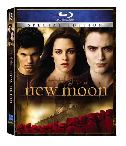 DVD Cover: Twilight Saga New Moon