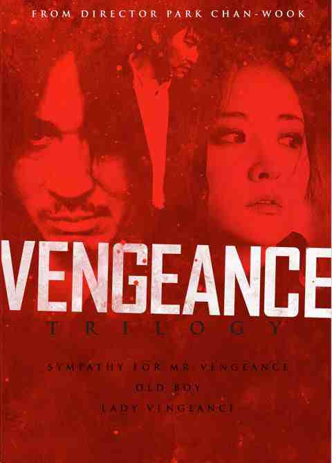 DVD Cover: The Vengeance Trilogy