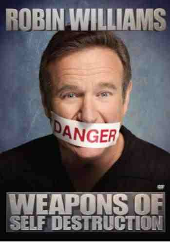 DVD Cover: Weapons of Self Destruction
