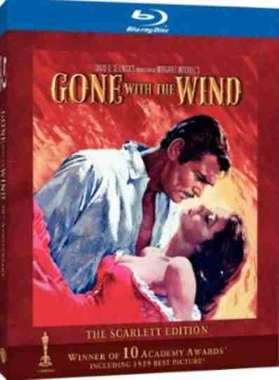 DVD Cover: Gone with the Wind