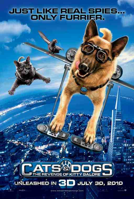Movie Poster: Cats & Dogs: The Revenge of Kitty Galore