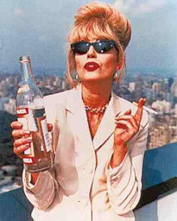 Joanna Lumley as Patsy Stone