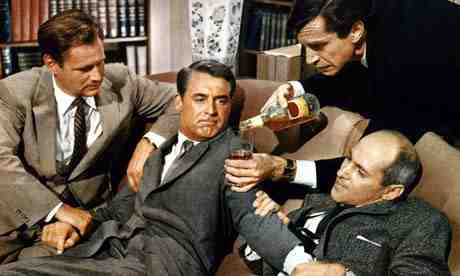 Martin Landau and James Mason's other goons never let up on Cary Grant in North by Northwest.