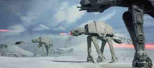 The Empire Strikes Back - Hoth Battle