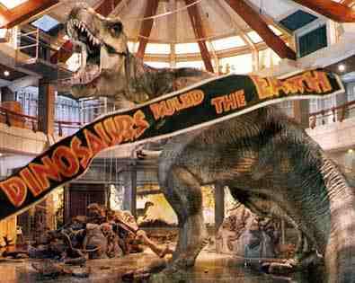 Jurassic Park T-Rex last scene