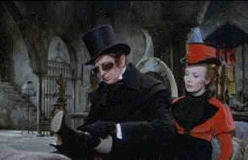 Tomb Of Ligeia - Vincent Price and Elizabeth Shepherd as Rowena