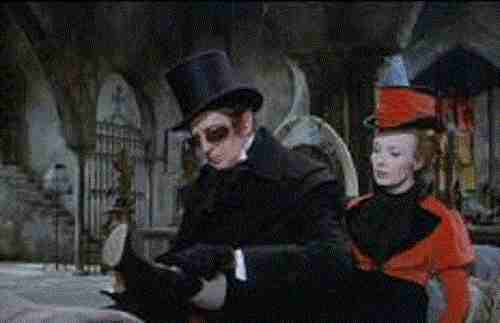 Tomb Of Ligeia - Vincent Price and Elizabeth Shepherd as Rowena