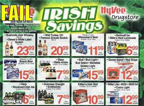 Irish Savings Fail