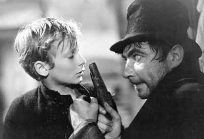 Oliver Twist (1948) David Lean - Robert Newton as Bill Sikes