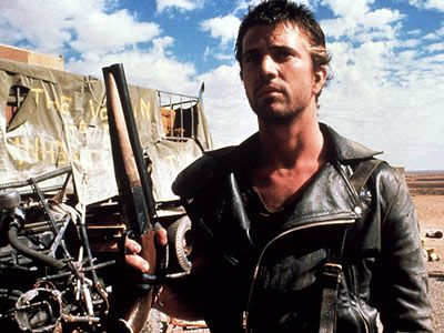 The Road Warrior (1981) starring Mel Gibson as Mad Max Rockatansky