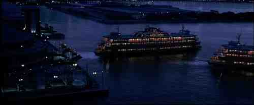 The Dark Knight (2008) Gotham City Ferry