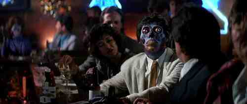They Live (1988) - Final Sequence, Alien Bar Patron