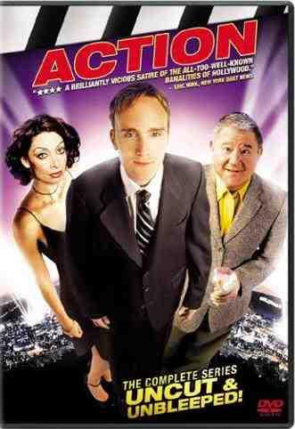 Jay Mohr, Illeana Douglas, and Buddy Hackett- the stars of Action
