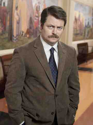 Nick Offerman as Ron Swanson