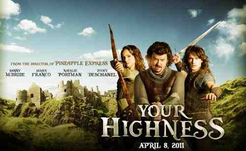 Your Highness (2011) starring Danny McBride and James Franco