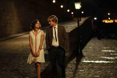 Owen Wilson and Marion Cotillard star in Midnight in Paris