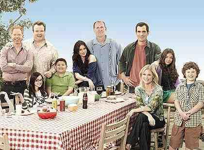 Modern Family (ABC) - Cast Photo